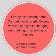 Success story competitive strength review and competitive strength report